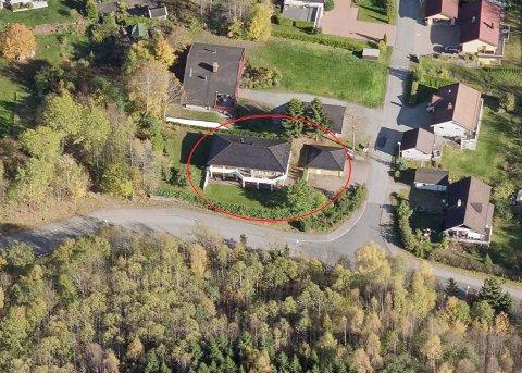På pristoppen: Huset i Hennumbråtan 1 var det dyreste som ble solgt i april.