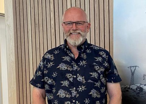 NY DAGLIG LEDER: Arne Gustav Hageland blir ny daglig leder i Fjellbygg AS.