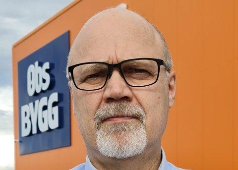 SKIFTER ARBEIDSGIVER: Ulf Haugen (51) fra Trondheim har nå fått seg ny jobb.
