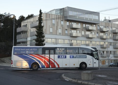 LEGGES NED: Nor-Way sin flybussrute gjennom vårt distrikt er historie fra og med 1. oktober. Foto: Nina S. Olsen