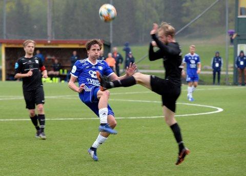 UAVGJORT: Oppsal, her representert ved Mats Thomassen Kristiansen, holdt Kjelsås til 1-1.
