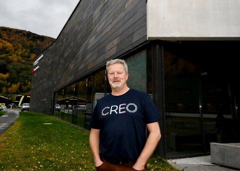 Vidar Hoel har vært leder for kunstnerorganisasjonen Creo Norge sitt regionlag i Innlandet siden i vår.