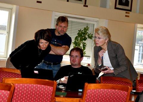 I Sel formannskap: Monica Håskjold Eide, Terje Jonny Sveen, Pål Ellingsbø og Eldri Siem.