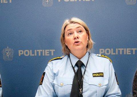 DROPPER OMORGANISERING: Astrid Nilsen, politimester i Troms politidistrikt.
