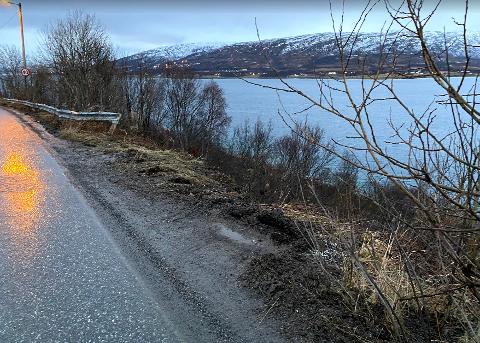 FARLIG: Her frykter Erling Laarstad at det skal skje ulykker.