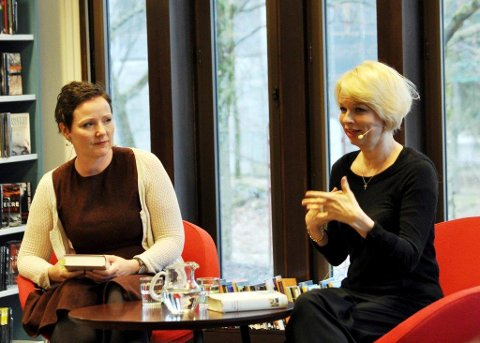 LINN MOT LINN: I samtale med Linn T. Sunne fortalte Linn Ullmann om den mest personlige boka hun har skrevet, om foreldrene Liv Ullmann og Ingmar Bergman.