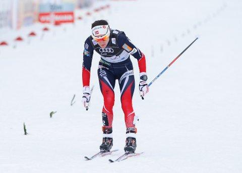 Heidi Weng leder nå Tour de Ski. Foto: Terje Pedersen / NTB scanpix