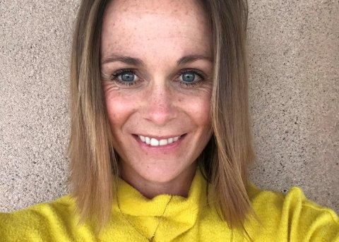I TENKEBOKSEN: – Spørsmålet er om det er riktig av meg å stemme i det hele tatt, når jeg er så i tvil, sier Brooke Schjellerud, amerikaner bosatt i Gjøvik.