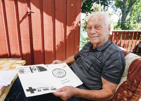ILDSJEL: Røde Kors-legenden Jap, Jørgen A. Pedersen, fyller 90 år mandag 14. august.