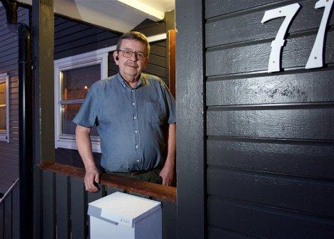 Sverre Hugo Rokstad fikk beskjed om at sjøl måtte ordne opp da han oppdaget at en person hadde registrert seg med bostedsadresse i huset hans. Foto: Ola Solvang