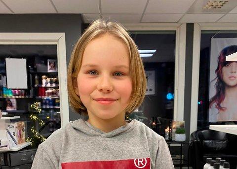 NY SVEIS: Nå har Andrine Vardebakken mye kortere hår enn før. Det kommer noen andre til gode.