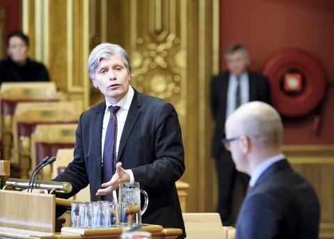 LUKKET: PD får ikke bli med på møtet når Ola Elvestuen møter Robin Kåss. Foto: Gorm Kallestad / NTB scanpix