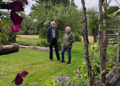 Historie: Turen starter og slutter på Stenraden gård hos Harald og Kari.