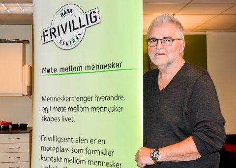 Daglig leder Frivilligsentralen Stein E. Hovind