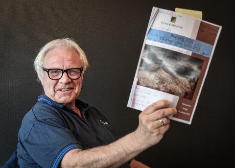 Ny leder i Eldrerådet i Rana, Dag Østerdal, har ikke sansen for rådmannens forslag om å kutte 7,8 millioner i ramma til helse- og omsorg. Han har hele Eldrerådet med seg i å kreve at rammene blir som i dag.
