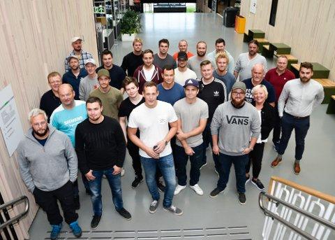 Fagskolen Tinius Olsen startet i dag sitt første kurs utenfor Kongsberg. Det ble holdt på nye Polarsirkelen videregående skole.