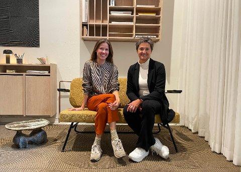 Anita Valrygg og Sonja Djønne har hatt mange besøkende innom Valrygg Studio under 3 Days of design i Danmark.