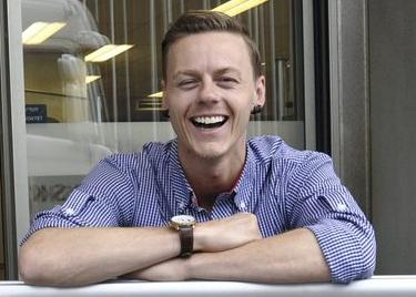Kjøpmann Mats Lehne i Rema 1000 fra Hønefoss.