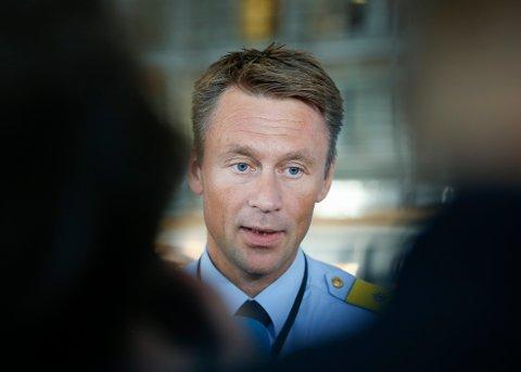 FRYKTER SMITTE: UP-sjef Jon Steven Hasseldal. Foto: Terje Pedersen / NTB scanpix