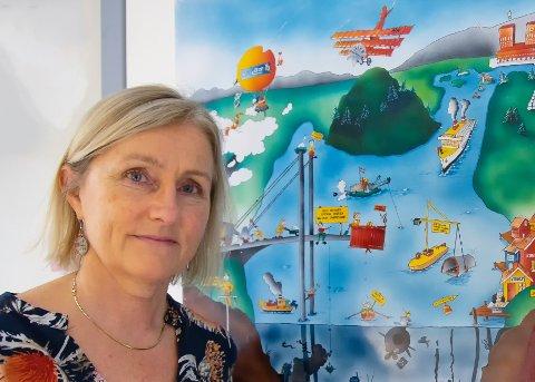 REGISTRERING: Prosjektleder Anne-Grethe Nordahl sier de skal registrere og kartlegge flere brønner før de bygger ut Oslofjordtunnelen.
