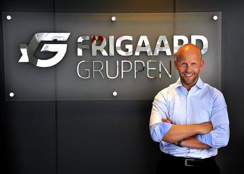 NYTT OPPKJØP: Trond Frigaard har sikret seg det svenske firmaet Ergoff Miljø AB hvor blant annet skøyteløperen Thomas Gustavsson var en av eierne. foto: jarl morten andersen