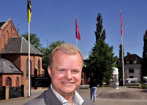 BARE KRISTNE: Kai Roger Hagen som sitter i bystyret for Partiet De Kristne, foreslo torsdag at kommunen i 2017 bare skulle ta imot kristne flyktninger.