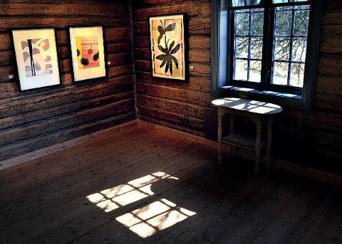 Dansk form: Jet-te L. Ranning lager malerier og grafikk som ofte samles under tittelen FLOR.
