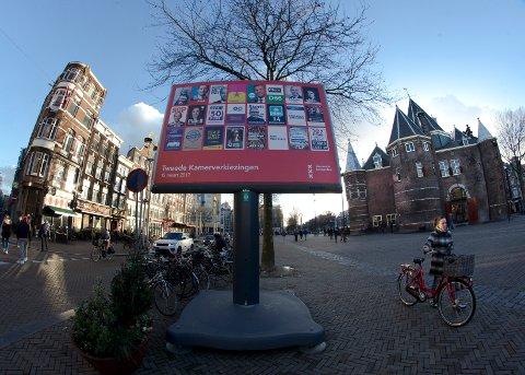 Amsterdam er et populært reisemål for tiden.