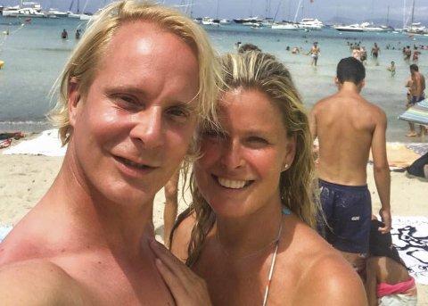 Henter inspirasjon: – Jeg lader opp til Kraftfestivalen her på Formentera, sier Petter Pilgaard. Han og kjæresten Vendela Kirsebom er på øya sør for Ibiza, hvor de spiller inn realityserien «Vendela+Petter» som kommer på TV2 senere denne måneden.