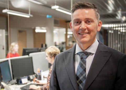 RUSTA: Administrerande direktør Trond Teigene meiner Sparebanken Sogn og Fjordane er rusta for krevjande tider.
