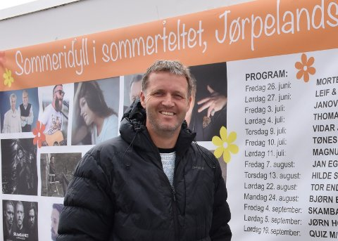 VILLE HA FLEKSIBILITET: Rune Harestad og ERA Konserter og underholdning søkte Strand kommune om å ha skjenking til klokka eitt på natta.