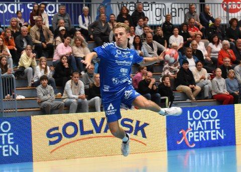SIKTER HØYT: Drammen HKs Ola Hoftun Lillelien har ambisjoner om både landslagsspill og proffliv i utlandet.