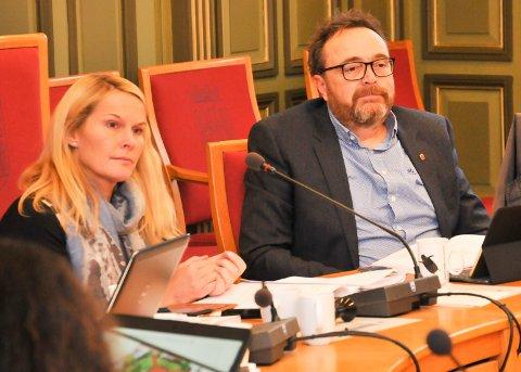 LUKKER: Ordfører Hedda Foss Five vil be om at møtet i formannskapet lukkes når Gjerpen håndballklubb skal orientere om driften tirsdag ettermiddag.