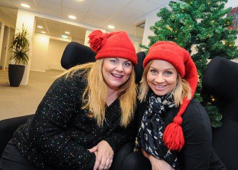 OGSÅ FOR BARNA: Lena Barth Aarstad og Jannicke Abrahamsen har laget juleshow for barn, også det vil foregå i Parkbiografen.