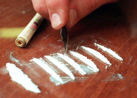 TUSENVIS AV BRUKERDOSER: Politiet fant 20 kilo amfetamin på en eiendom i Bamble som de mener var ment for salg.