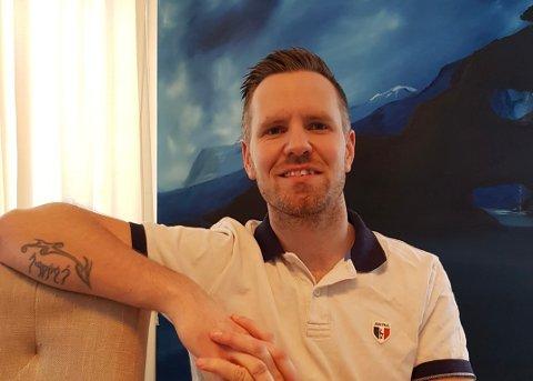 SKEPTISK: Christopher Vatvedt er ingen vaksinemotstander, men ønsker ikke å ta koronavaksinen.