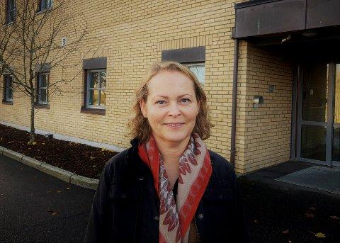 PÅGANG: Anne Kjendalen, som er leder av avdeling for barn og unges psykiske helse, bekrefter en betydelig pågang i antall henvisninger.
