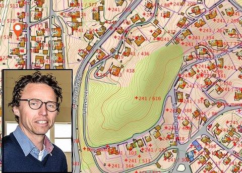 SOLGT: Runar Vassbotten og familien har kjøpt Grosshaug, primært for å bevare friområdet slik det er i dag, samtidig som de ser på muligheten for å bygge bolig, som en forlengelse av Urbyes vei.