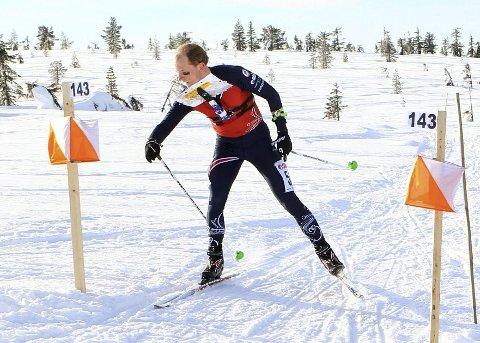 Lars Hol Moholdt ble nummer 12 i EM mandag.
