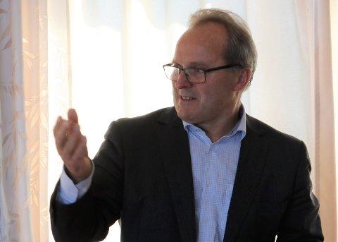 SEL SEG UT: Dagfinn Neteland har selt sine aksjer i Fjord1. No er selskapet på veg av børs.