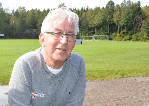 BEKYMRET: Daglig leder Ole Petter Tufte i NFF Vestfold er bekymret for breddefotballen i fylket vårt.