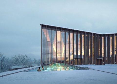 NYTT: Tøyenbadet skal rives og bygges på nytt. Det blir Sandefjord-selskapet Enwa en viktig del av.
