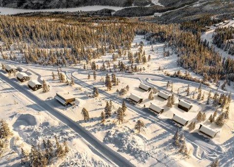 Nytt hyttefelt på Bjørgan: 10 prosjekterte hytter i hyttefeltet Nedre Bjørgålia på Bjørgan ble lagt ut for salg fredag. Interessen har vært formidabel, ifølge eiendomsmegler Georg Høin i Boli.