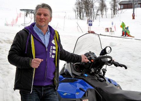 Drivkraft: Morten Odden har i mange år drive med mellom anna hyttesatsing på Filefjell. No er han leiar av Tyin Filefjell Utvikling AS som i tillegg til skiheisen har kontroll på mange av selskapa som driv med reiselivssatsing i området.