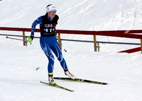 Blant favorittene: Eivor Melbybråten er alltid blant favorittene når hun står på startstreken i et skiskytterrenn.