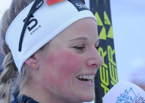 Går sprinten: Mari Eide fikk den siste plassen på sprintlaget til VM.
