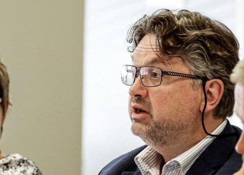 Fornøyd 1: Frogns rådmann Harald Karsten Hermansen er meget godt fornøyd med fjorårets økonomiske resultat.