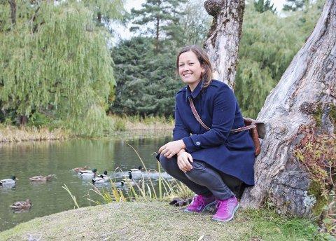 ÅS-VETERAN: Camilla Sæbjørnsen studerte agroøkologi på NMBU før hun ble kultursjef i Ås kommune. Foto.; Monika S. Risnes
