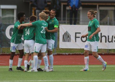 SCORING: Fredrik Green har gitt Ås ledelsen.