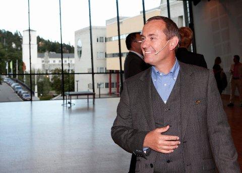 AVVENTER: Kulturhussjef i Bærum, Morten Walderhaug, avventer situasjonen i Kristiansand og Stavanger.